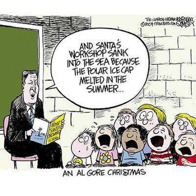Al Gore, Christmas Grinch