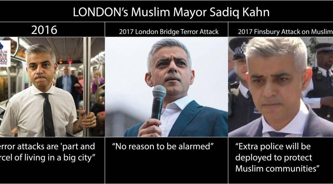 London's Muslim Mayor, Sadiq Khan