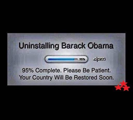 Uninstalling Barrack Obama